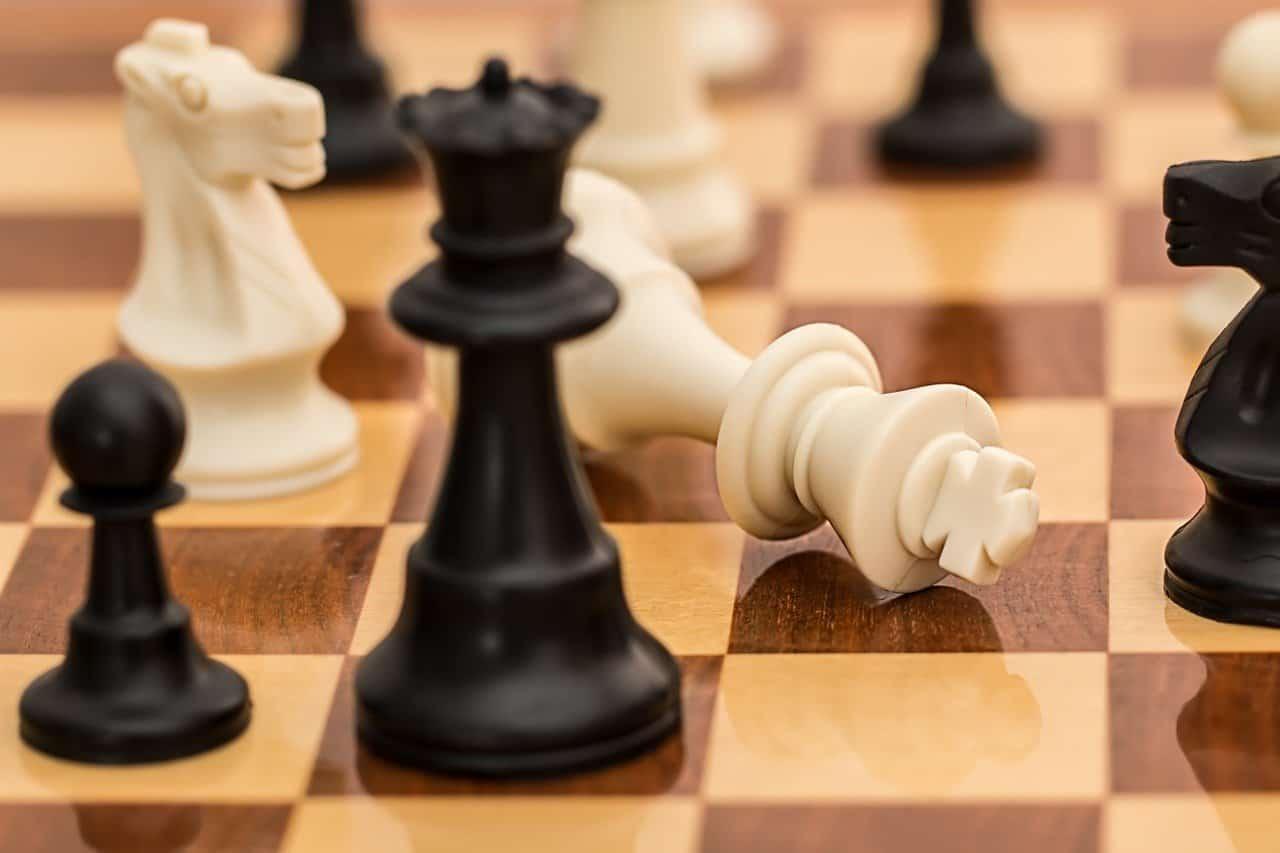 Partida de ajedrez - Jaque mate