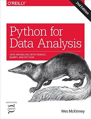 "Libro ""Python for Data Analysis"""