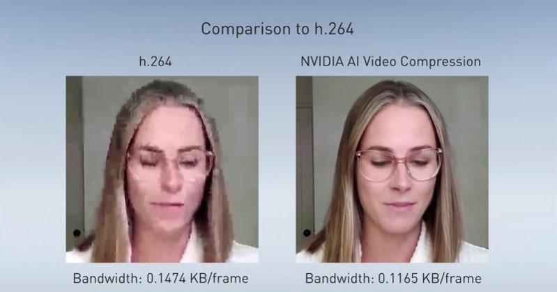 Compresión de vídeo con IA